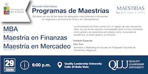 Reunión Informativa - Maestrías de Doble Titulación...