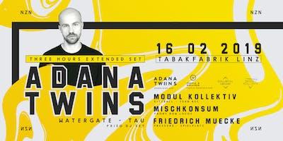 NZN NZN presents ADANA TWINS at Tabakfabrik Linz