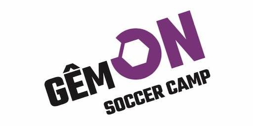 GÊM ON Soccer Camp - July | Groffennaf