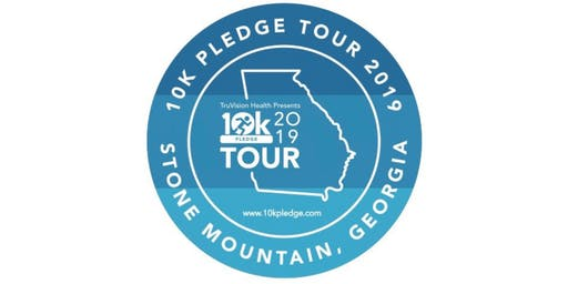 10k PLEDGE Tour Stone Mountain