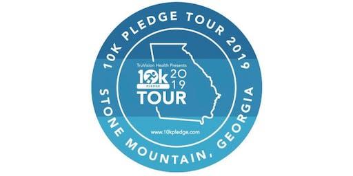 10k PLEDGE Tour Stone Mountain
