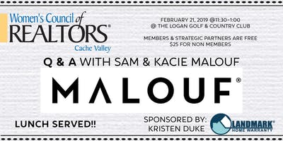 Q & A with Sam & Kacie Malouf