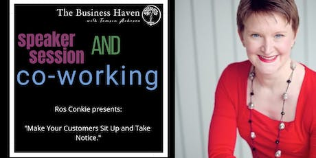 The Business Haven Community & Co-Working with Ros Conkie tickets