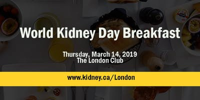 World Kidney Day Breakfast