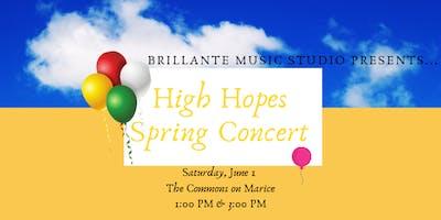 Brillante Spring Concert-3:00 PM