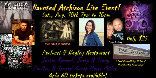 Haunted Atchison Live Event!