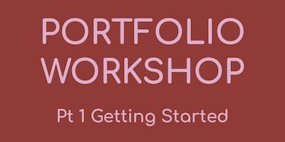 Workshop: Design Portfolios - Pt. 1 Getting Started