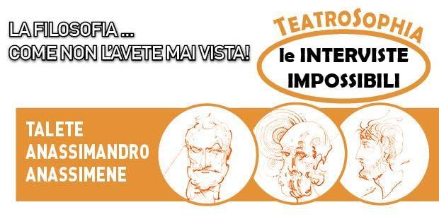 TeatroSophia, Intervista Impossibile a TALETE