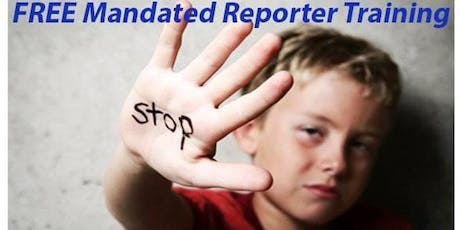 Free Mandated Reporter Training  tickets