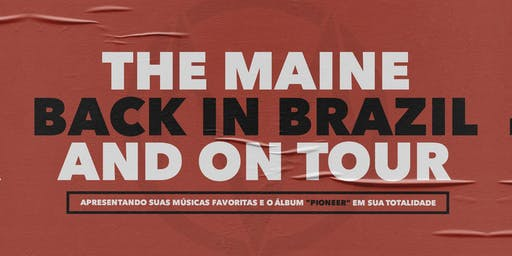The Maine – Back In Brazil And On Tour – Belo Horizonte