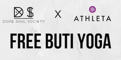 Free Buti Yoga Class - Athleta Hoboken