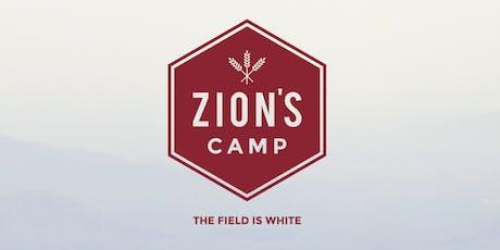 Zion's Camp 2019 tickets
