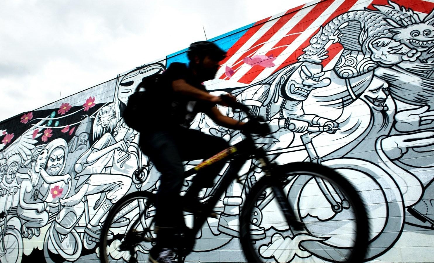 Hidden Murals of DC Bike Tour