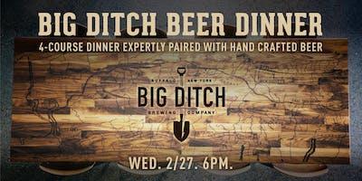 Big Ditch Beer Dinner