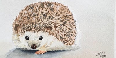 How to Paint a Hedgehog in Watercolour - Additional Workshop