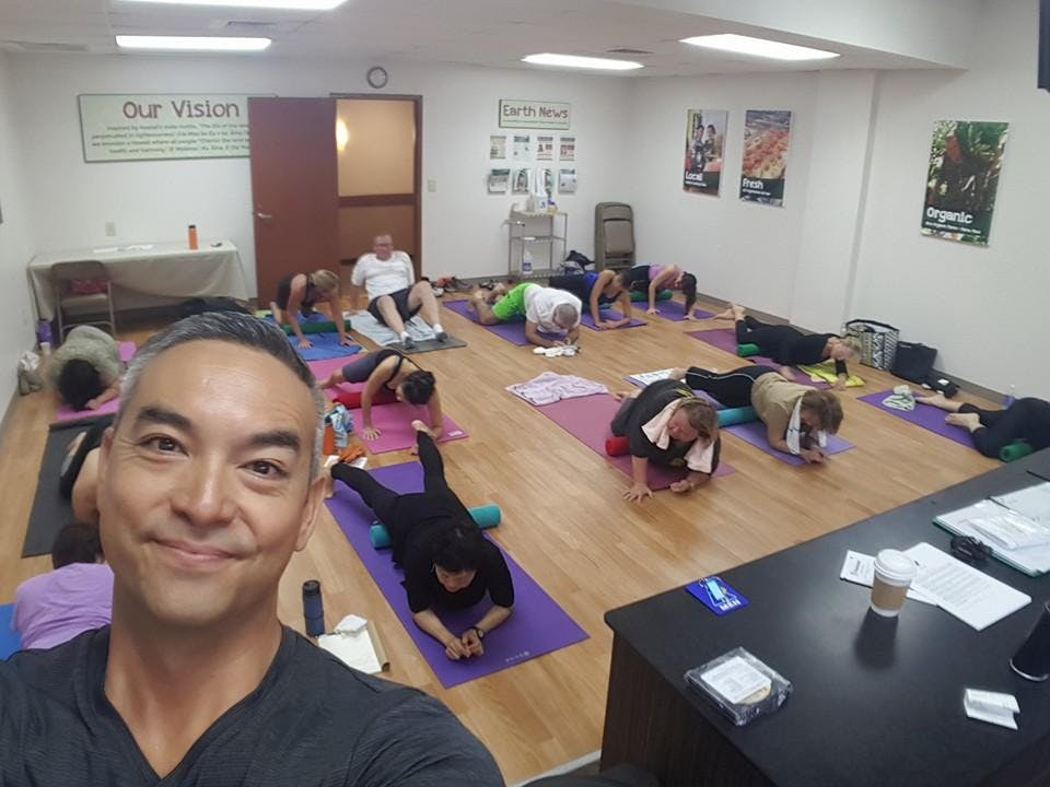 Honolulu: How to Roll Your Fascia of Body Ach