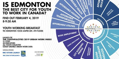 YouthfulCities 2019 Urban Work Index Launch Breakfast