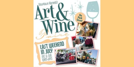 35th Annual Downtown Alameda Art & Wine Faire tickets