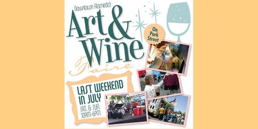 35th Annual Downtown Alameda Art & Wine Faire