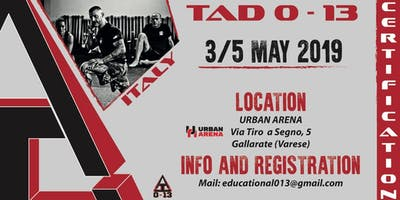 TAD 0-13 Certification