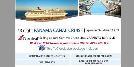 Cruise the Panama Canal aboard the Carnival Miracle