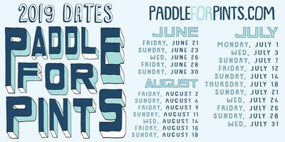 Paddle For Pints 2019
