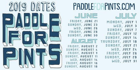 Paddle For Pints 2019 tickets
