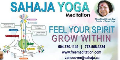 Free Sahaja Yoga Meditation Classes in Richmond B.C.