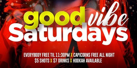GOOD VIBE SATURDAYS @ PEACE LOUNGE tickets