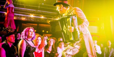 Bicycle-Powered Insects, Alligator Wishing Wells, and Edward Gorey: Art Meets Absurdity at The Edwardian Ball