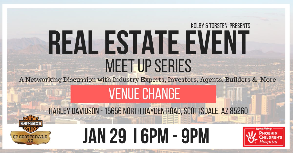 Arizona Real Estate Meet Up Series