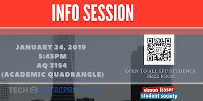 SFU Tech Entrepreneurs Club Info session