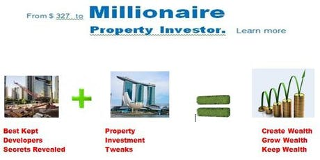 FREE: Wealth Creation Workshop : Property Investment Best Kept Secrets Revealed tickets