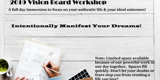 2019 Vision Board Workshop - Create Your Life Vision Board (Las Vegas, NV)