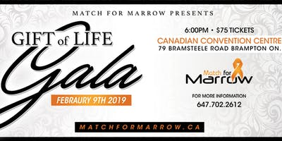 Match for Marrow Presents: The GIFT OF LIFE GALA