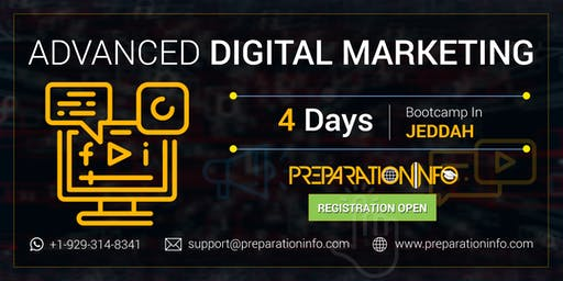 Advanced Digital Marketing Certification Training Program in Jeddah 4 Days