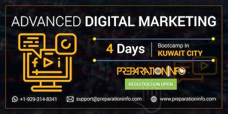Advanced Digital Marketing Certification Training Program in Kuwait 4 Days tickets