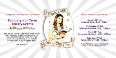 Storytime with Anna-Christina at Chiswick Library!