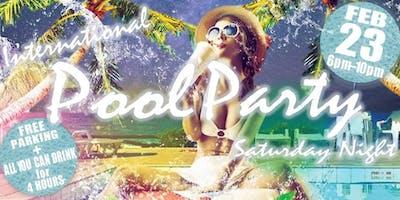 International Pool Party Night