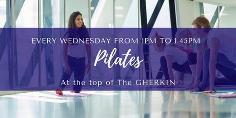 Pilates at The Gherkin tickets