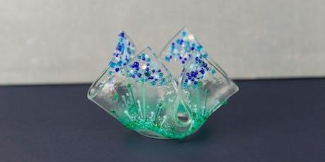Fused Glass Tea Light Holder tickets