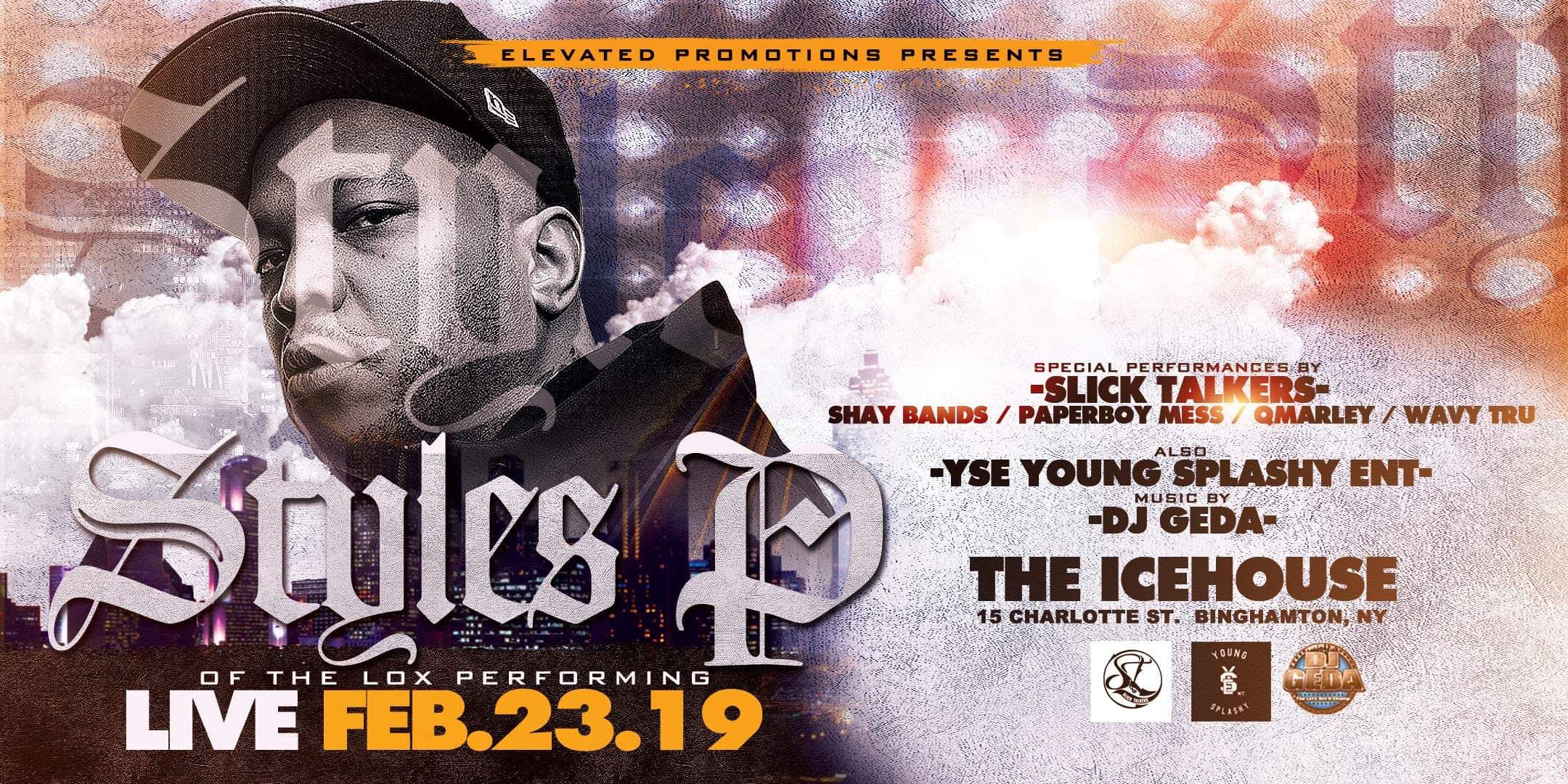 """STYLES P"" @ The Icehouse"