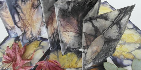 Autumn Eco-Printing (on paper) Workshop tickets