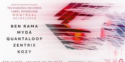 Techgnosis Records Label Showcase // Ben Rama, MYDA & more