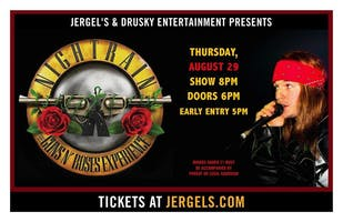*Nightrain - The Guns & Roses Tribute Experience