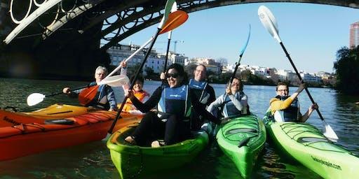 Sevilla en kayak.Smart Start