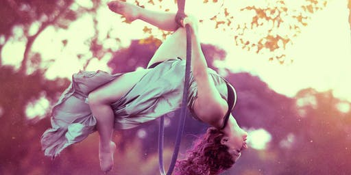 Hoop, silks and flexi workshops with Alex and Kat