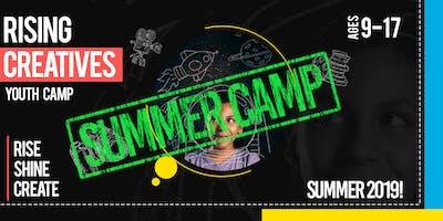 Rising Creatives Youth Summer Camp 2019