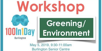 100in1Day Workshop - Greening/Environment Focus