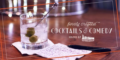 Finely Crafted: Cocktails and Comedy tickets